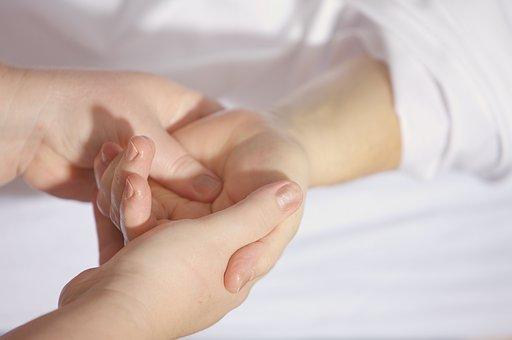 手, マッサージ, 治療, 指, パーム, ハンドマッサージ, 手首