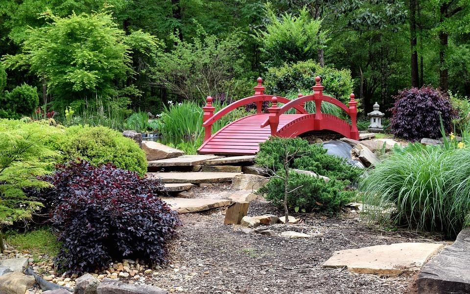 Asian Garden Garden Landscaping Nature Outdoors