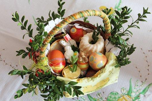 Wielkanoc Koszyczek Tradycja Święconka Wie