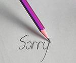 pen, leave, sorry
