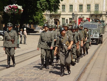 Soldiers War Movie Shooting Lviv The Secon