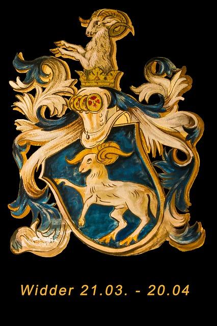 Ilustraci n gratis signo del zodiaco aries hor scopo - Signos del zodiaco en orden ...