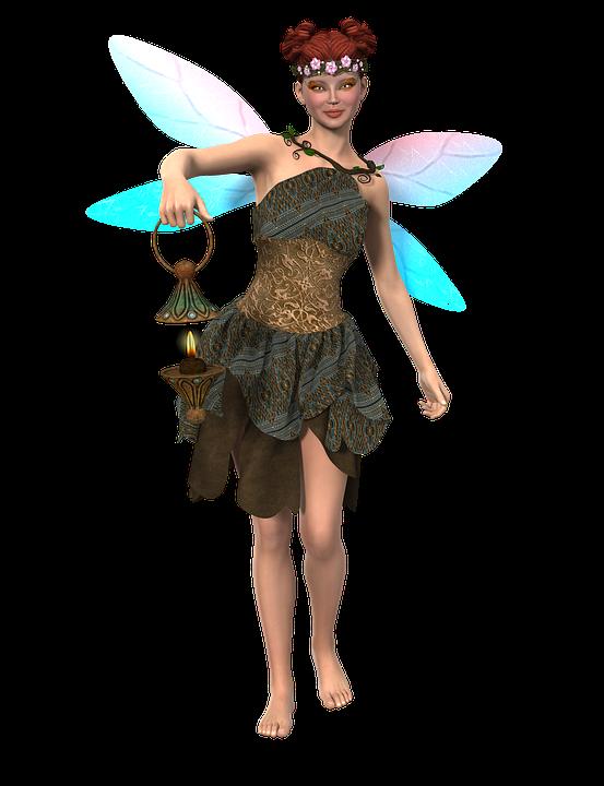 free illustration woman elf fee fairytale free image