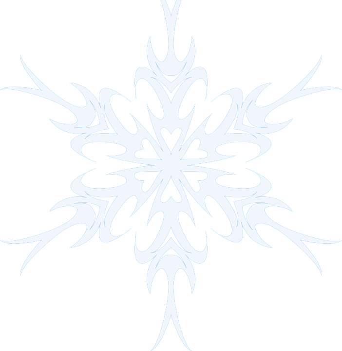 Snowflake Snow Winter Free Vector Graphic On Pixabay
