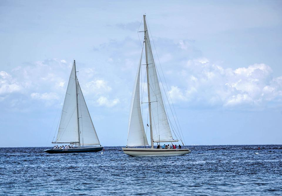 Segelboot karibik  Kostenloses Foto: Segel Boote, Karibik, Boot, Meer - Kostenloses ...