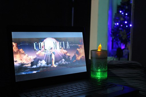 Movie, Christmas Night, Candlelight
