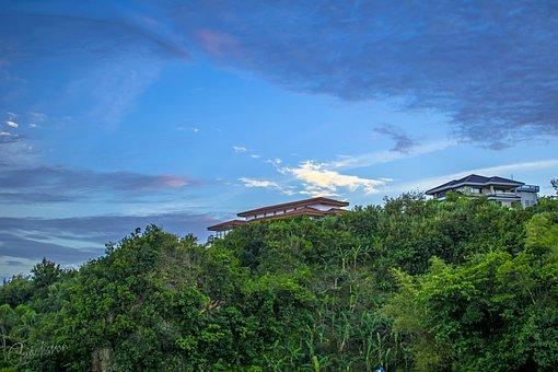 House, Top, Mountain, Nature, Macro