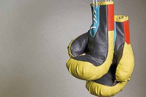 ボックス, ボクシンググローブ, ハンギング, スポーツ