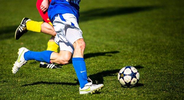 サッカー, 決闘, ラッシュ, ボール, スポーツ, サッカー選手, 野手