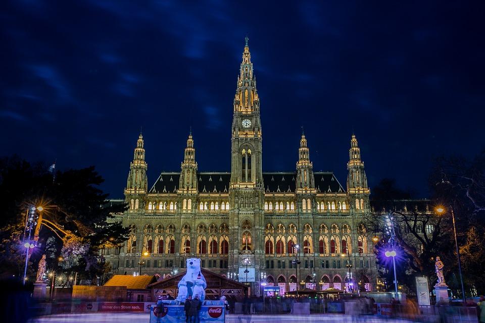 Study in stunning Vienna