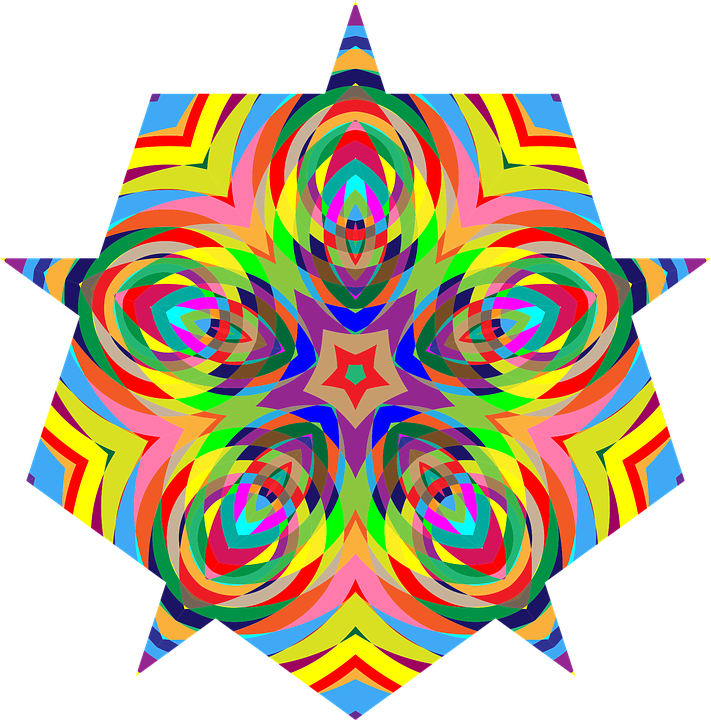 colorful chromatic psychedelic free vector graphic on pixabay rh pixabay com Sunshine Vector Free Free Sun Graphics