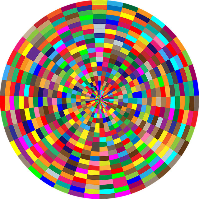 Free Vector Graphic Colorful Chromatic Psychedelic