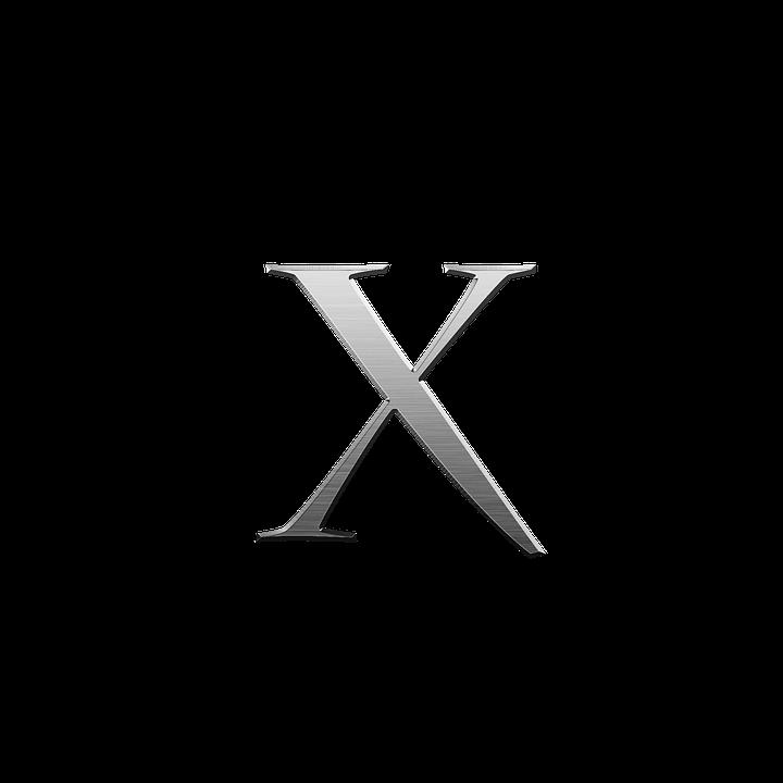 Litera X Alfabet Metalic Imagine Gratuită Pe Pixabay