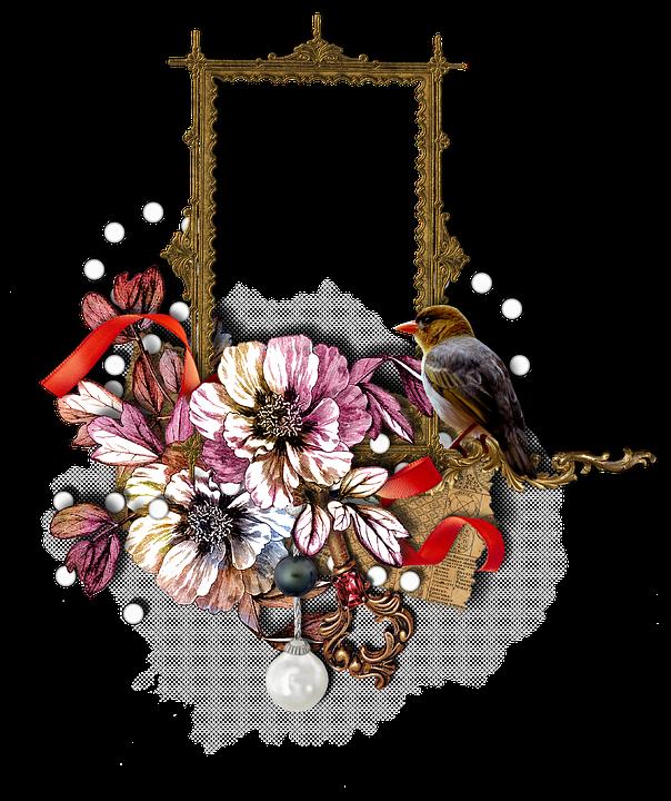 Scrapbook Frame Cluster · Free image on Pixabay
