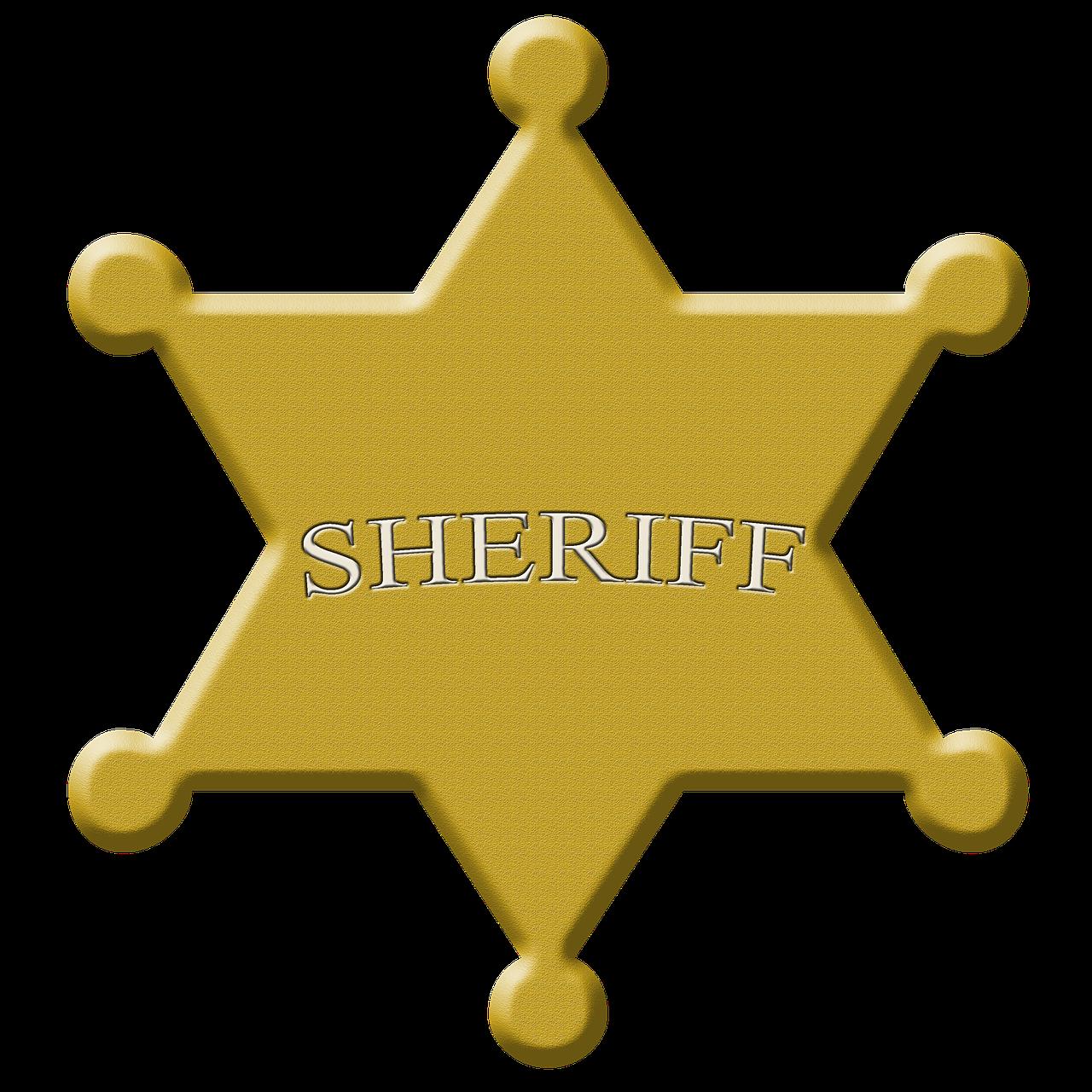 Звезда шерифа в картинках