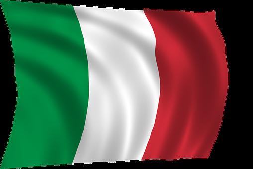 Italien-Flagge, Italien, Flagge