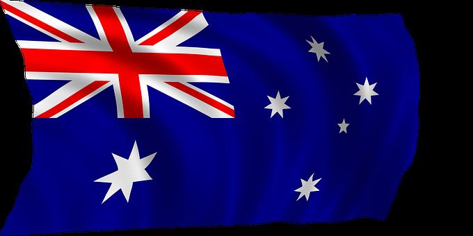 Australian Flag Flag Australia Symbol Nati