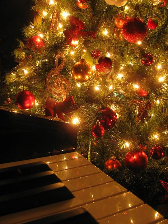 Christmas Piano.Christmas Music Piano Free Photo On Pixabay