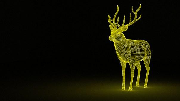 Deer, Dream, Animal, Fantasy, Mythology