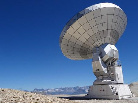 Radio Telescope, Astronomy, Bure Peak