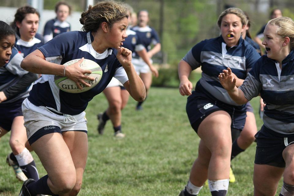 Rugby À Xv, Femmes, Sports, Collège, Penn State, Usa