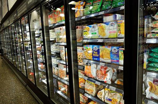 Frozen Food Supermarket Frozen Cold Freeze