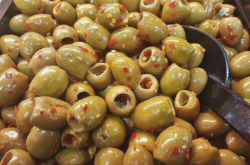 Оливки, Изъеденные Маслины