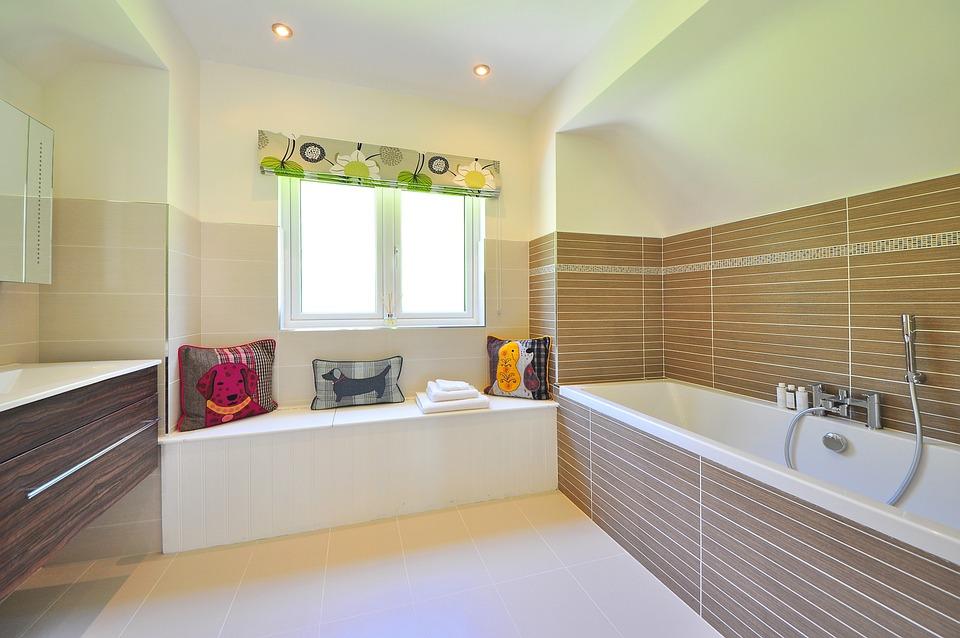 kostenloses foto: bad, badezimmer, luxus - kostenloses bild auf ... - Luxus Badezimmer Bilder