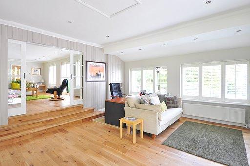 Holzboden, Haus, Boden, Hartholz, Bau
