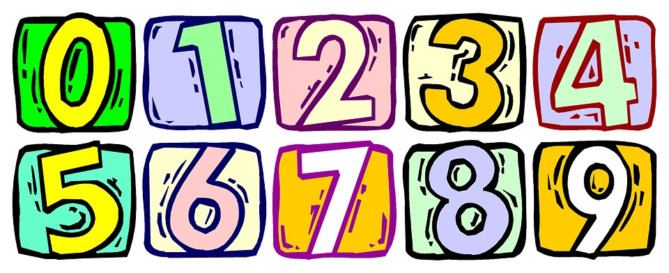 numbers numbering school free image on pixabay rh pixabay com free clipart numbers 1 100 free clip art numbers and letters