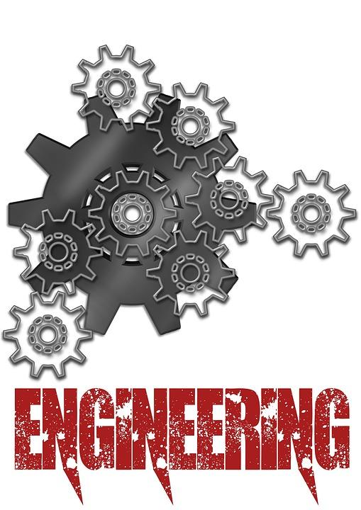 Free illustration: Engineering, Gears, Poster - Free Image on Pixabay - 1336531