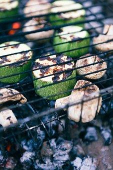Dacha, Shish Kebab, Vegetarianism
