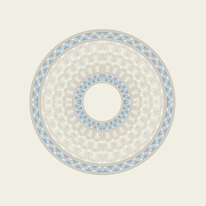 Free Vector Graphic Guilloche Rosette Free Image On