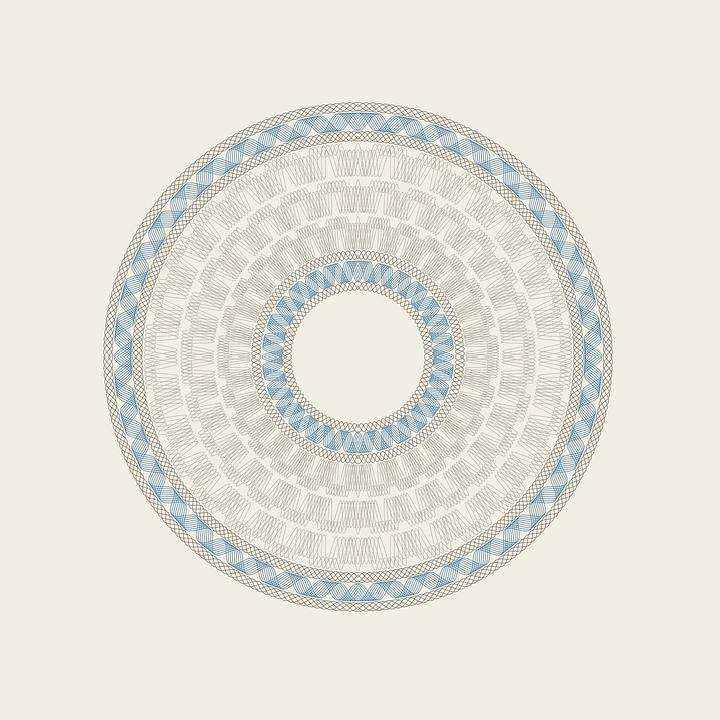 Free vector graphic: Guilloche, Rosette