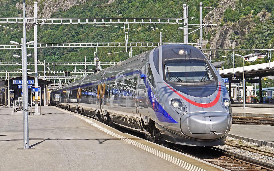 Lodu, Genewa-Mediolan, Trenitalia, Bryg, Valais
