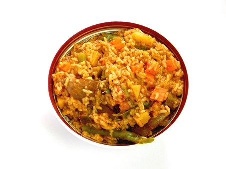 Rice, Food, Bowl, Meal, Asian Food