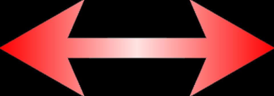 赤の矢印 左右 特殊文字 · Pixab...
