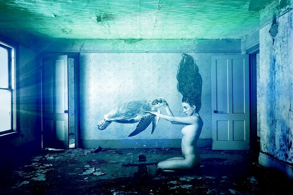 Vrouw water onderwater · gratis afbeelding op pixabay