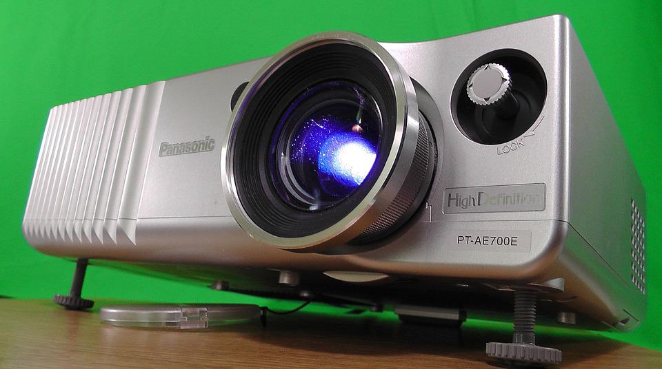 Vidéoprojecteur, Vidéo, Projection, Film, Toile