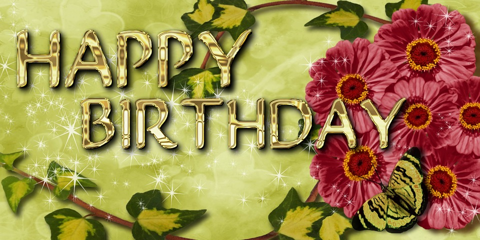 Birthday Greeting Card Flowers Free Image On Pixabay