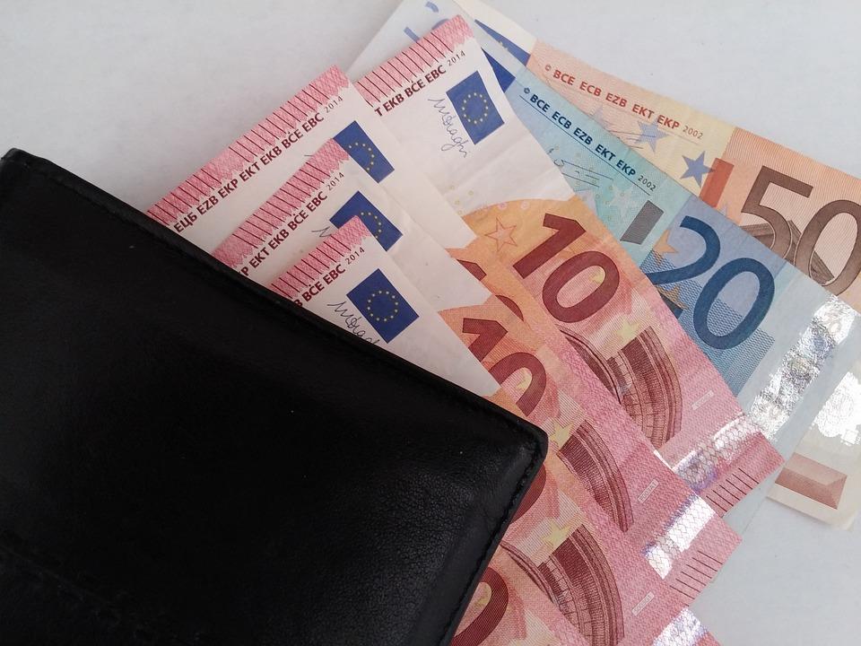 Pieniądze, Banknotów Euro, Euro, Ciastoliny
