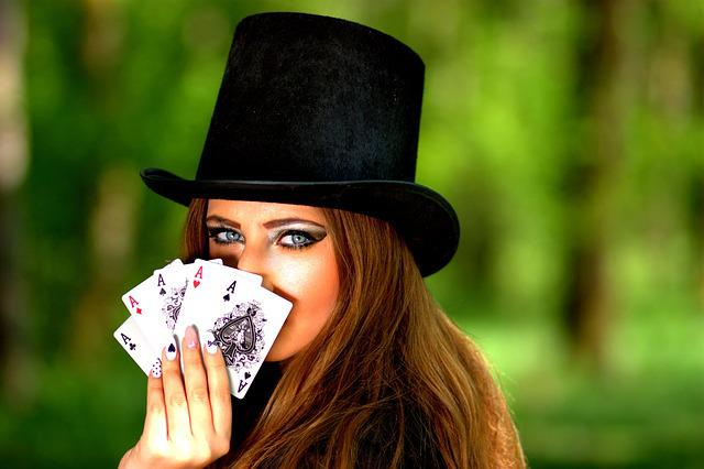 Free Photo Girl, Topper, Playing Cards, Luck - Free Image On Pixabay - 1339682-7303