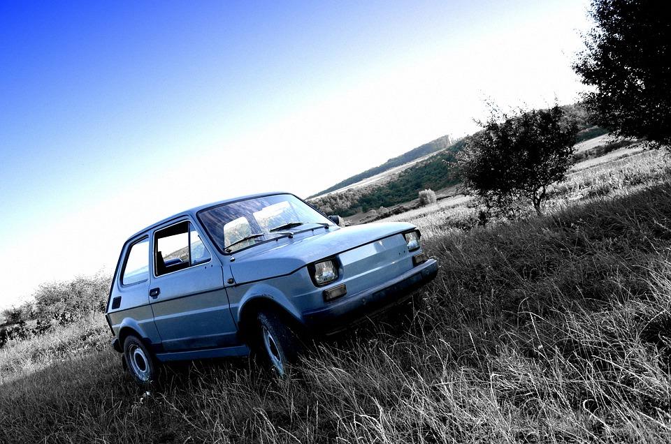 Polski Fiat, Fso, Pole, Małe, Automatycznie, Samochód