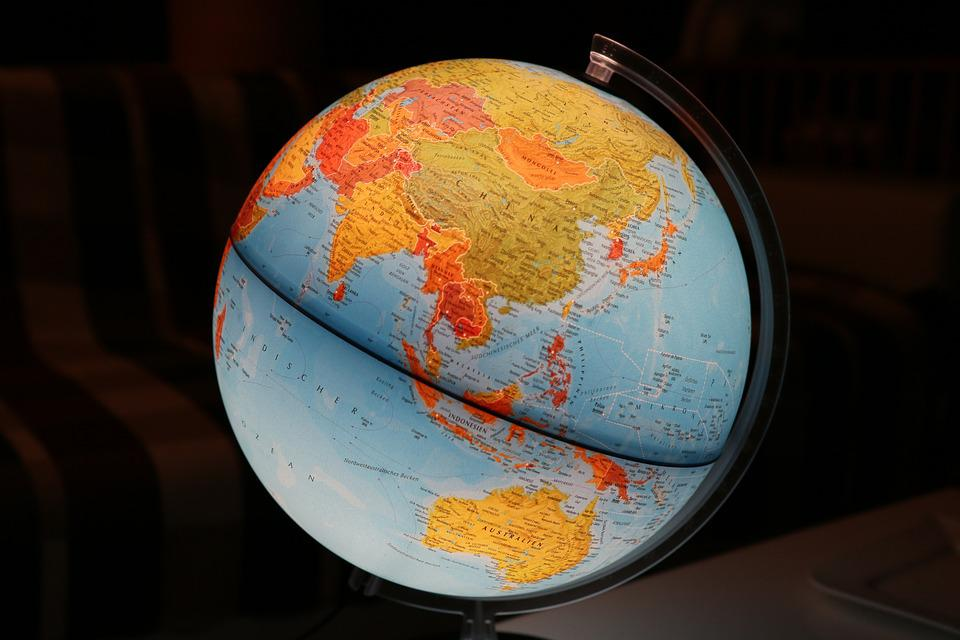 Globe world earth map of the free photo on pixabay globe world earth map of the world meridian gumiabroncs Images