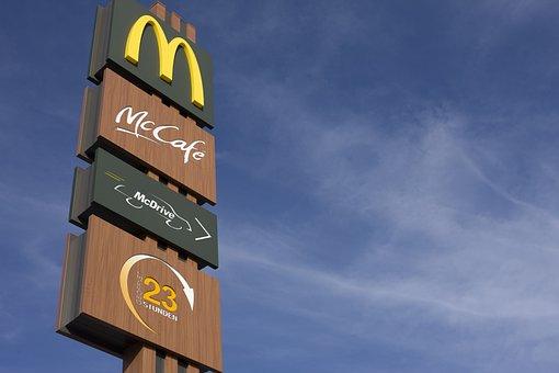 Mcdonalds Redaktionel Chain Fast Food M Mc