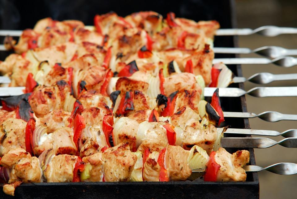Grill, Barbecue, Carne, Pollame, Carne Di Tacchino