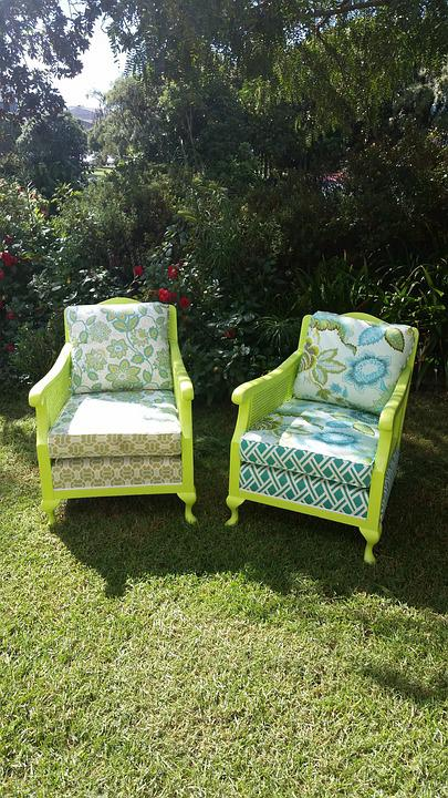 Chair, Green, Up-Cycle, Recycle, Paint, Furniture, upcycled furniture, upcycling ideas