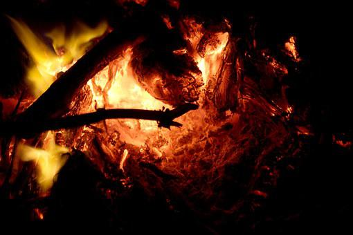 Fire, Furnace, Heat, Charcoal, Wood
