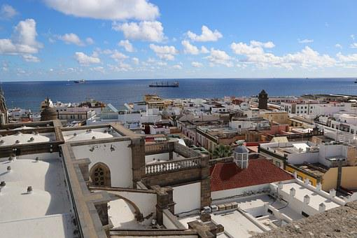 Qué ver qué hacer en Las Palmas de Gran Canaria, Vista al mar desde Las Palmas de Gran Canaria