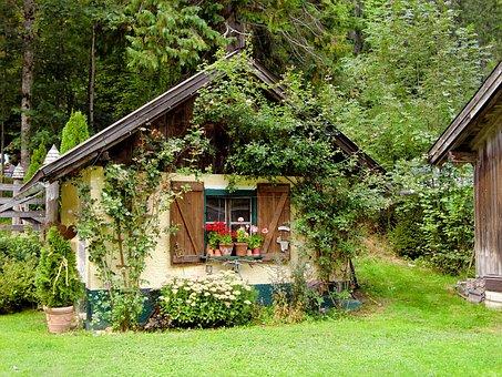 Gartenhaus, Hexenhaus, Verwunschen